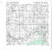 Oconto T28N-R21E, Oconto County 1987
